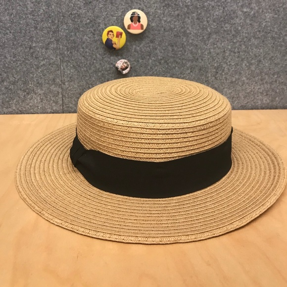 b8a643926cf57 Cooperative Accessories - Straw Boater Hat